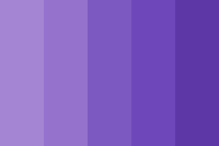 Purple Electra Color Palette