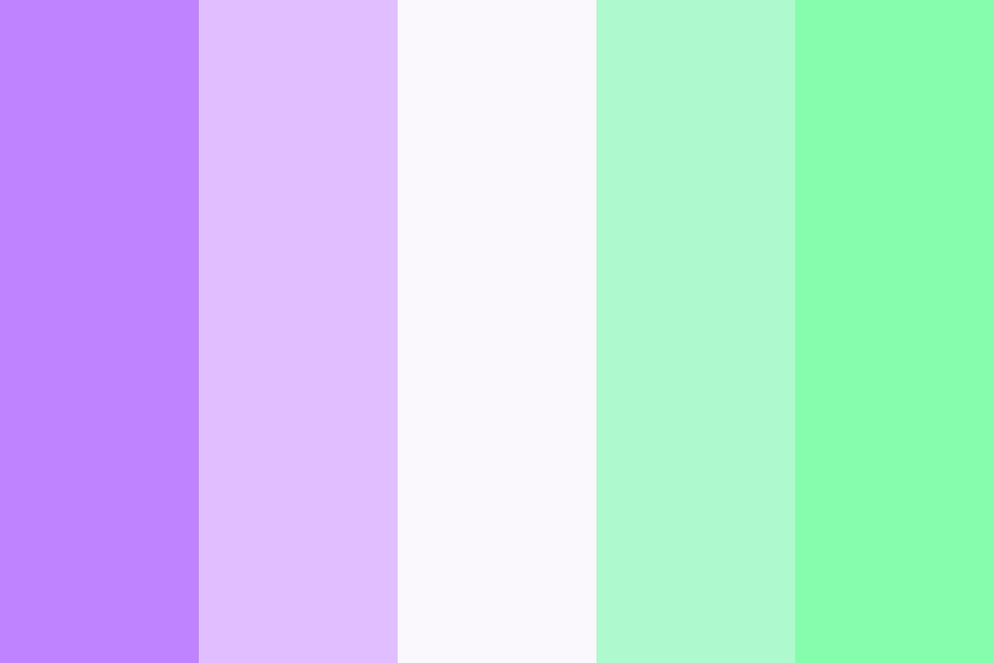 Purple Green Is The Besttt Color Palette