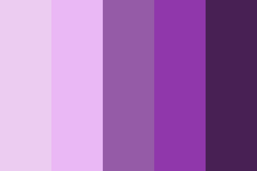 Purple Illusion Color Palette