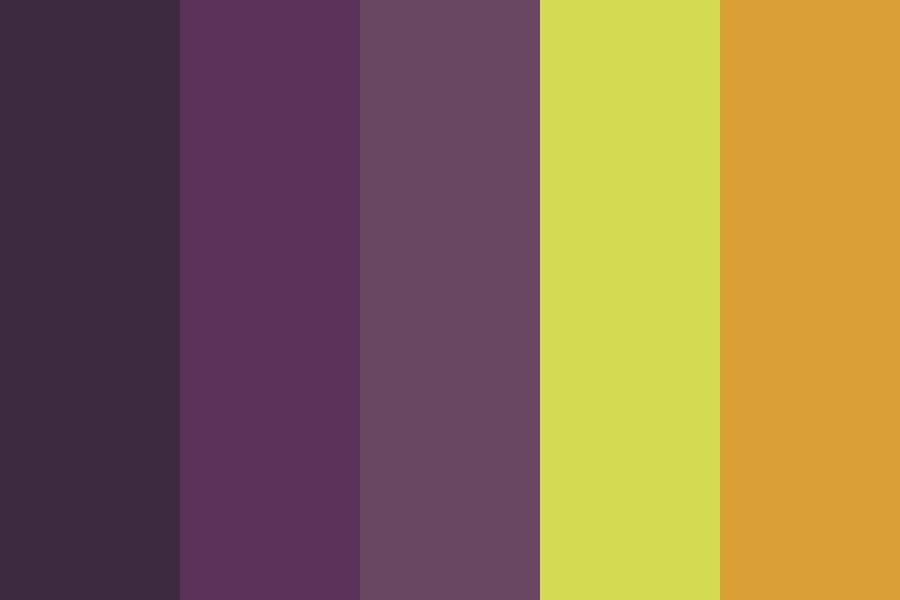 Purple Midnight Color Palette