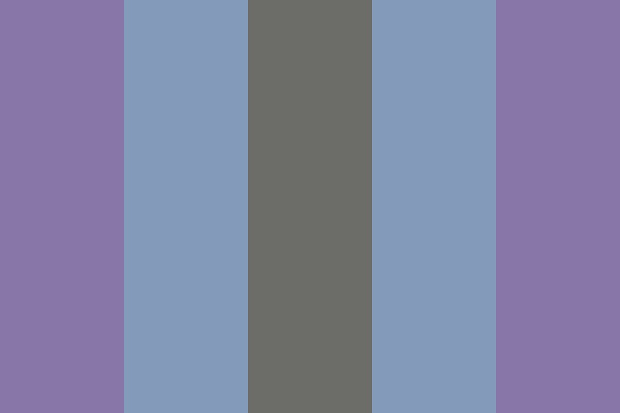 Purple Monotone Color Palette