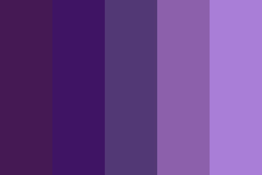 Purple Party Color Palette