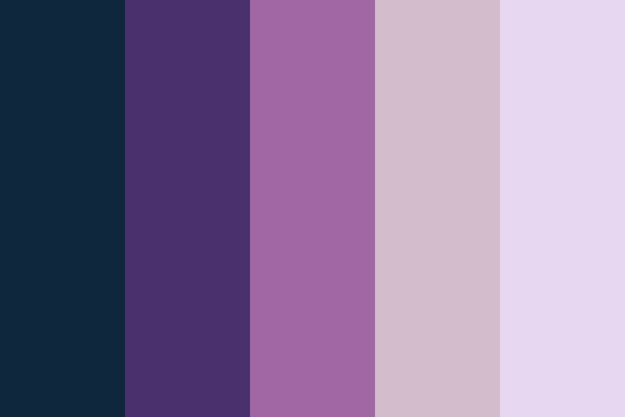 Purple Pink Shades Color Palette