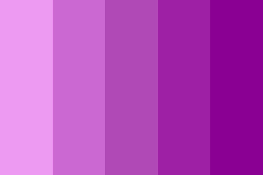 Purple Power Color Palette