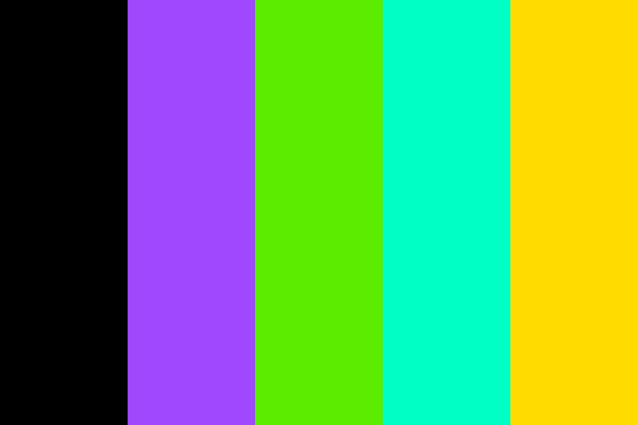 Purple Programming Color Palette