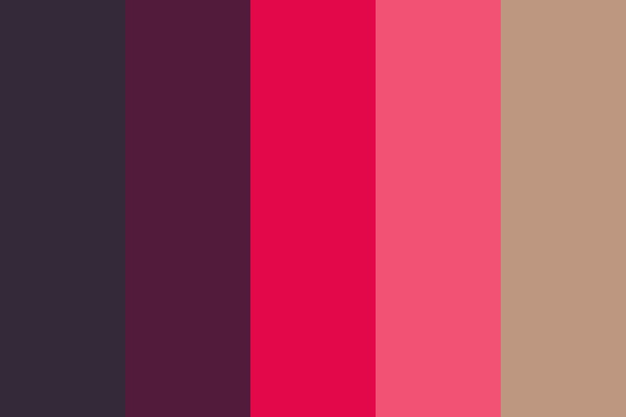 Purple Shades Color Palette
