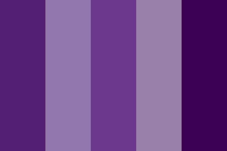 Purple Shadows Color Palette