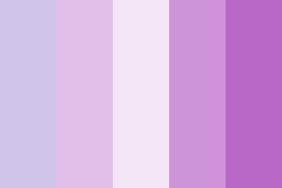 Purple Skin Color Palette