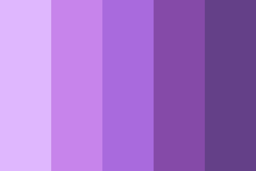 Purple Theme Color Palette