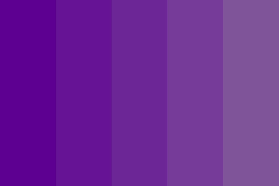 Purple To Gray Color Palette