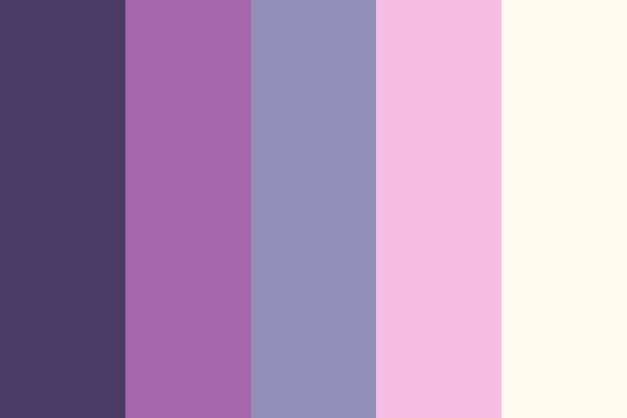 Purple Whine And Marble Palaces Color Palette