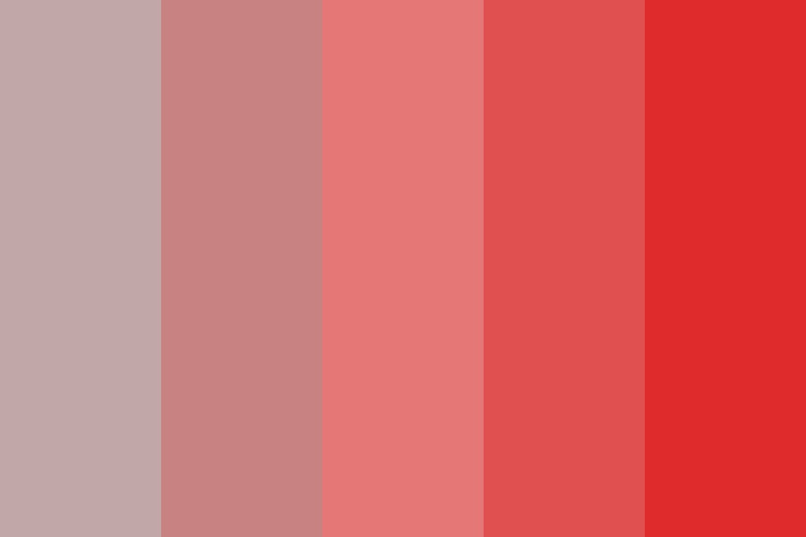 Purple red Color Palette