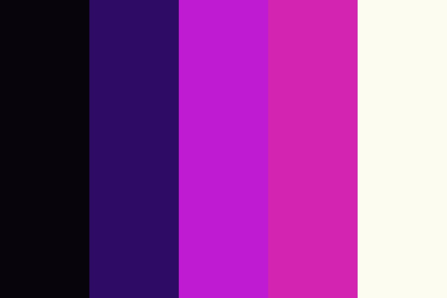 Purplebean Color Palette