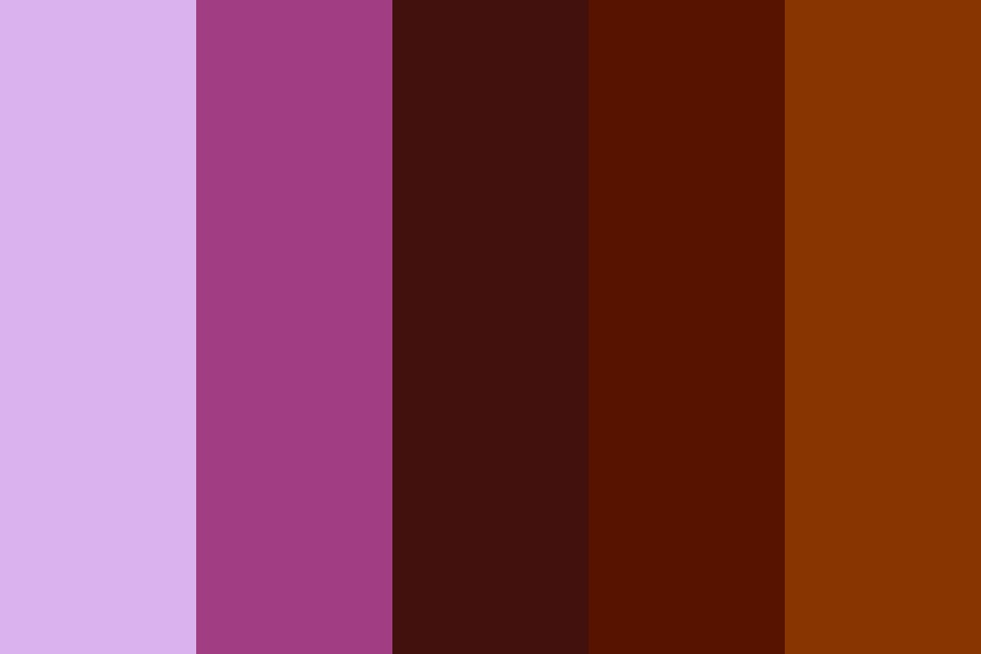 Purpleglitch Color Palette