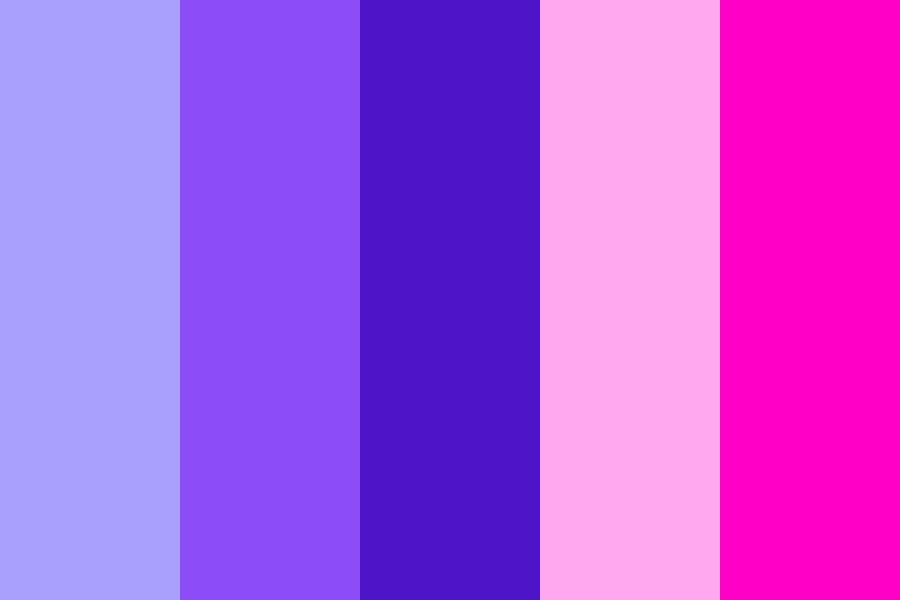 Purples And Pinks Pallete Color Palette