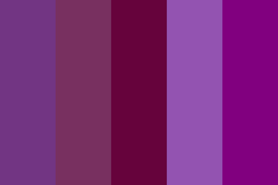 Purposeful Purple Color Palette