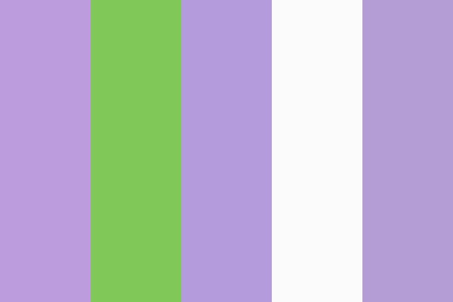 Queer Flag Color Palette