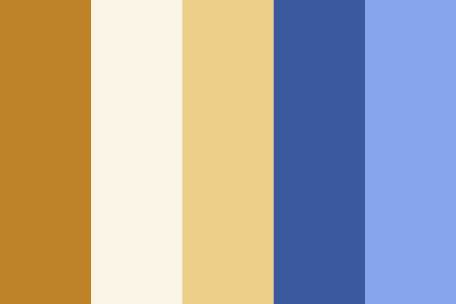 Ra Gold And Comp Color Palette
