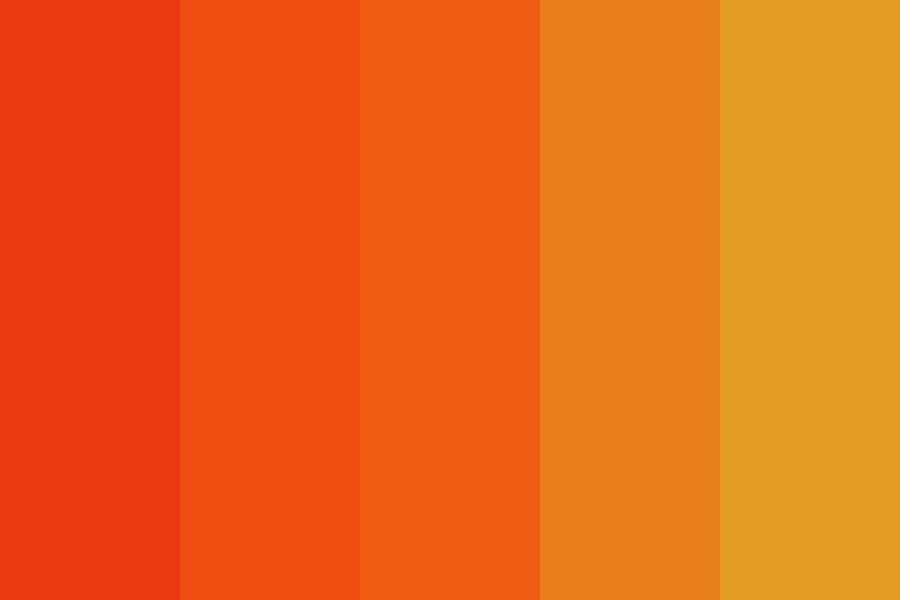 Raging Fire Color Palette