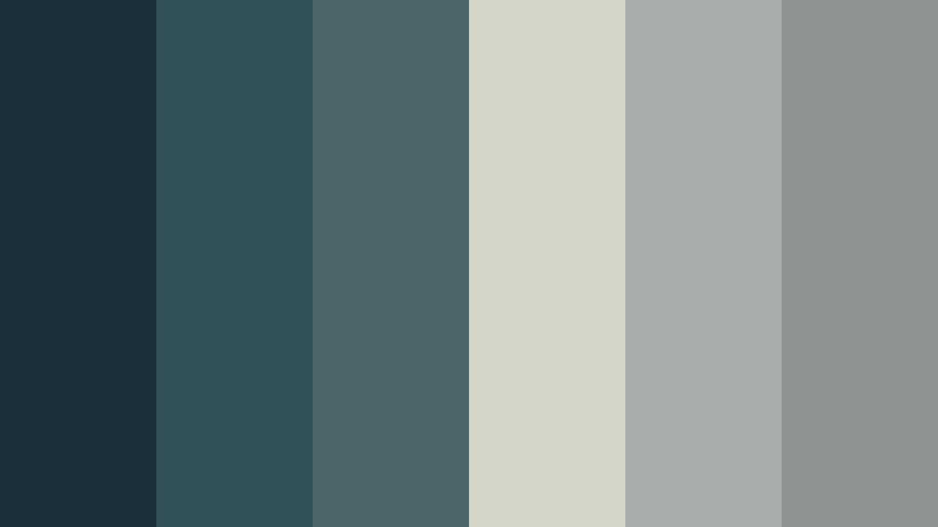 Rain Clouds Color Palette