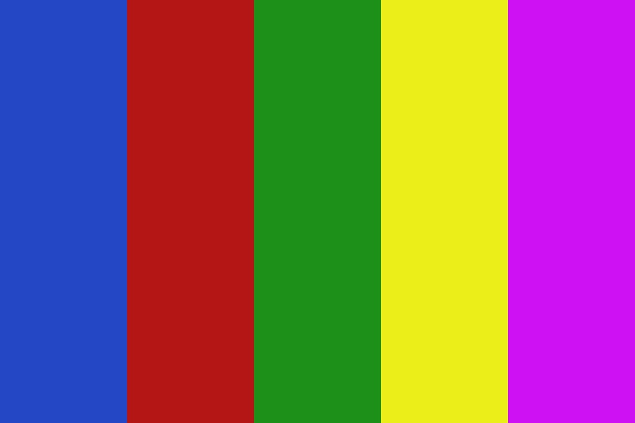 Rainbow Colors Color Palette