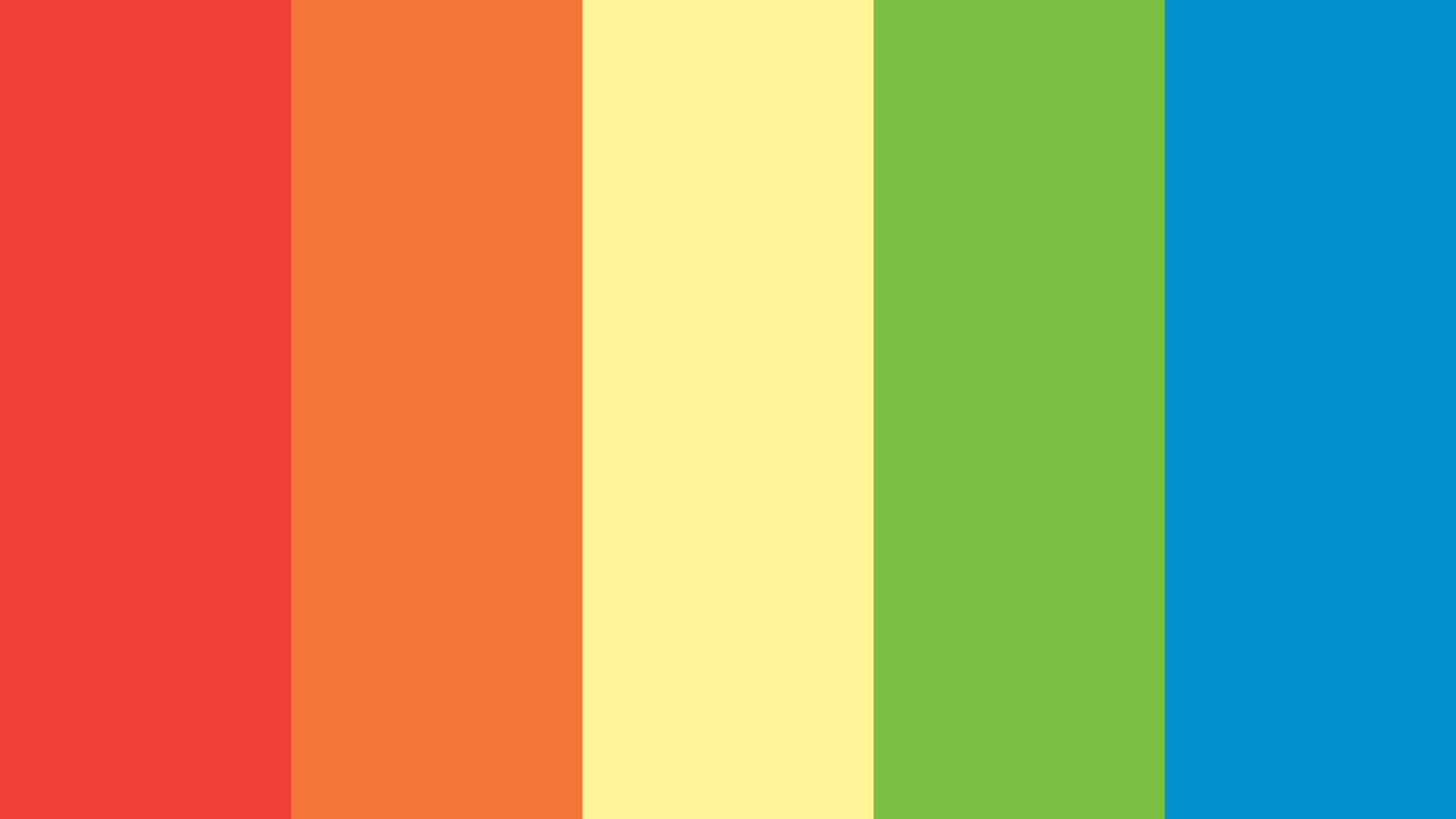Rainbow Dash Color Palette