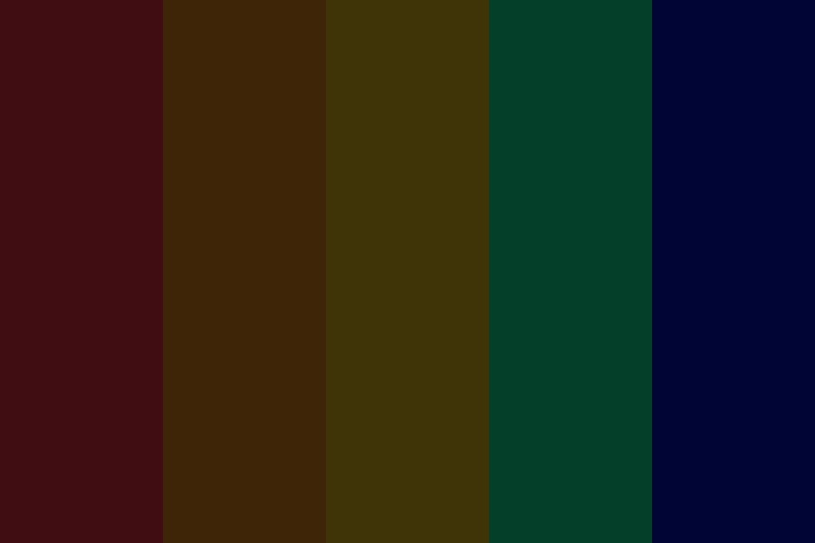 Rainbow Nights Color Palette