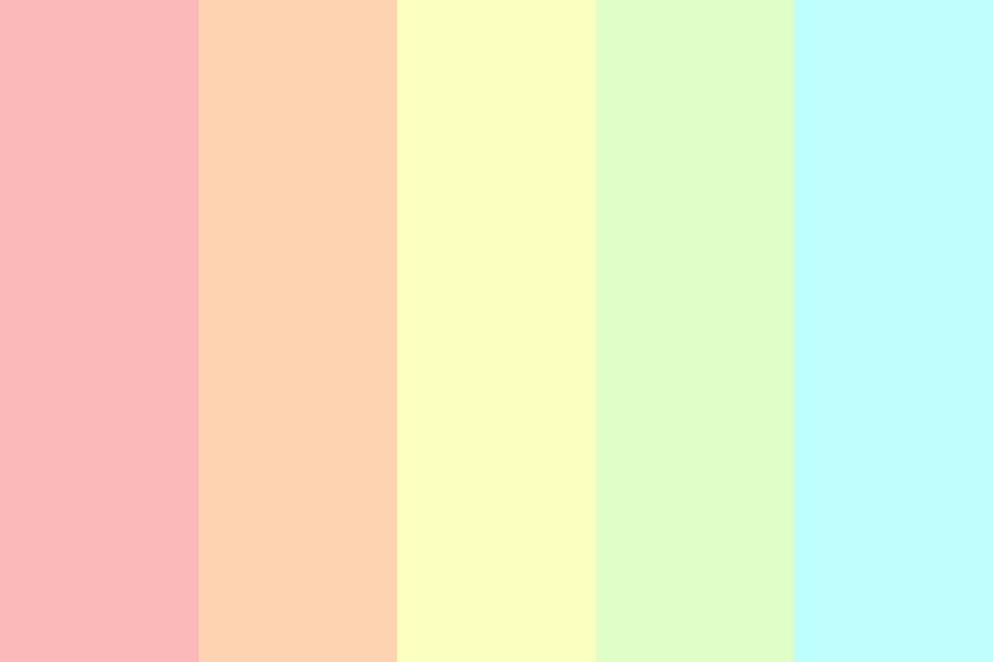 Rainbow O o Color Palette