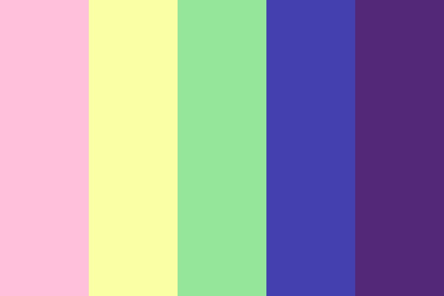 Rainbow Wizard Color Palette