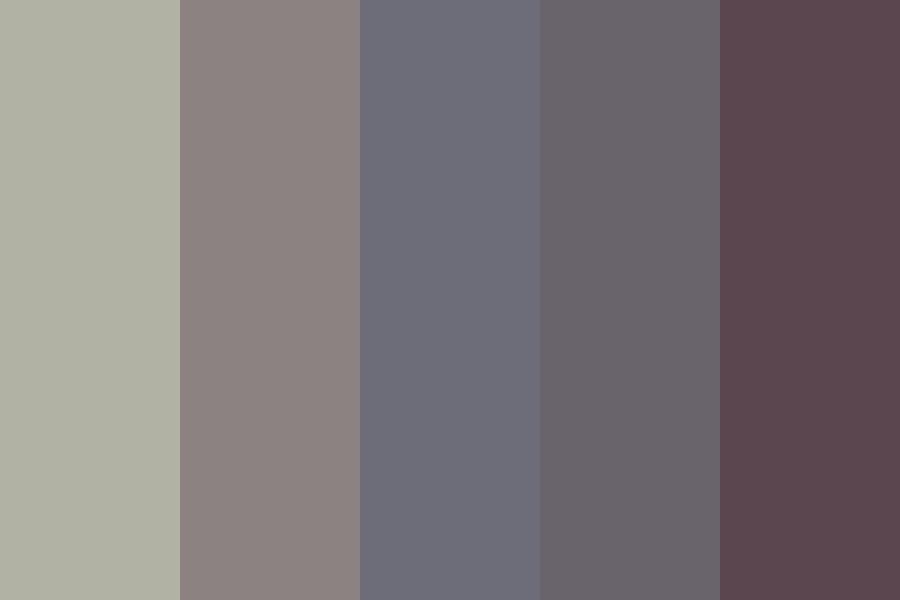 Rainbow Wraiths Color Palette