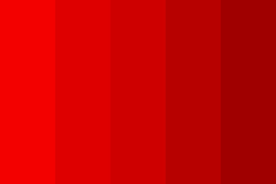 Rainbowofred Color Palette