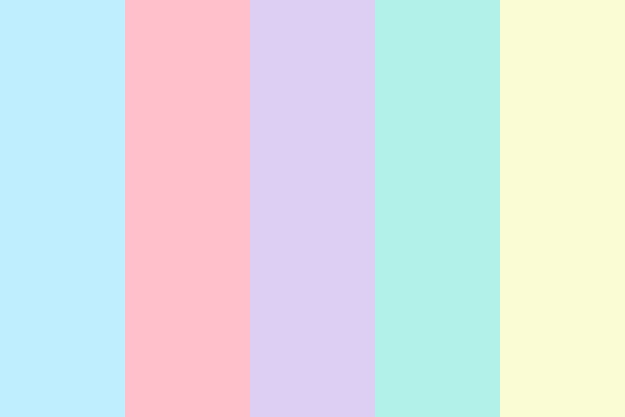 Rainboww Color Palette