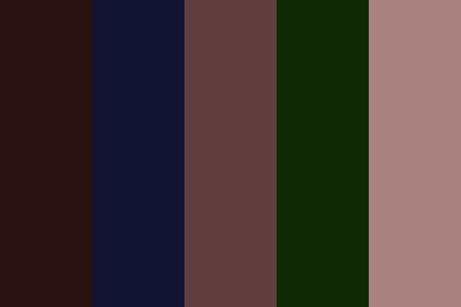 Random Darkish Colors Color Palette
