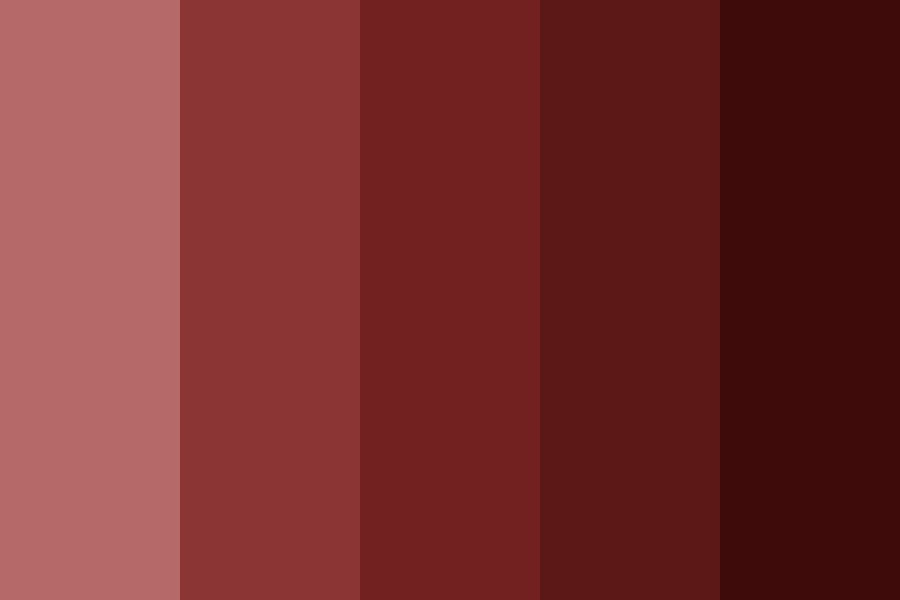 Rawr They Are Red Color Palette