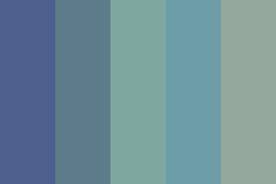 Real Ocean Color Palette