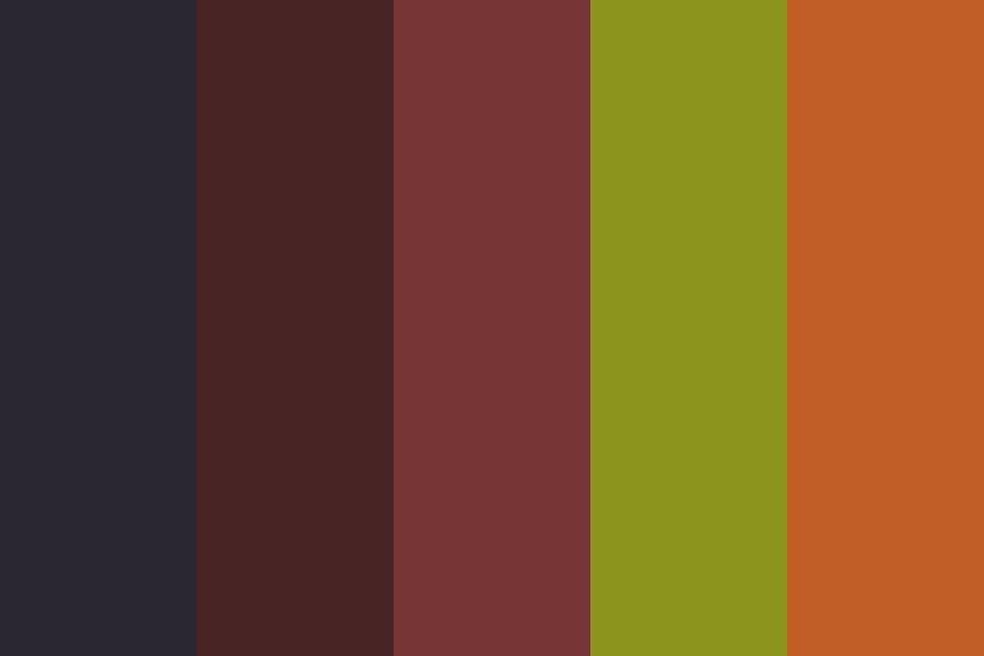 Real Retro Color Palette