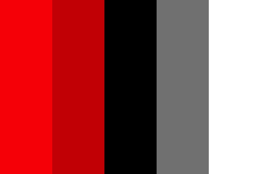 Red And Black Color Palette