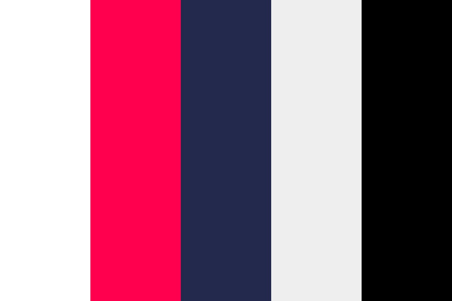 Red And Blue Color Palette