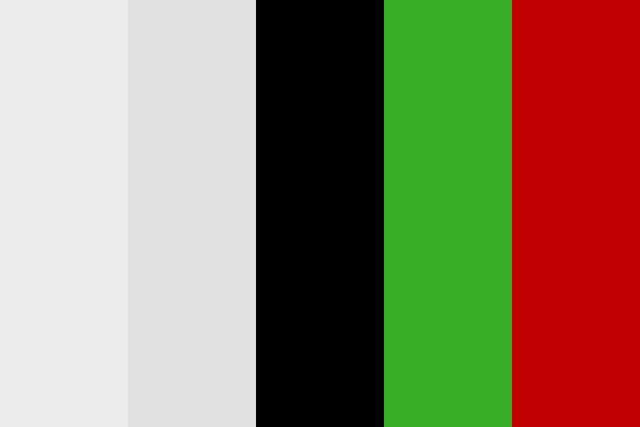 Red And Green Color Palette