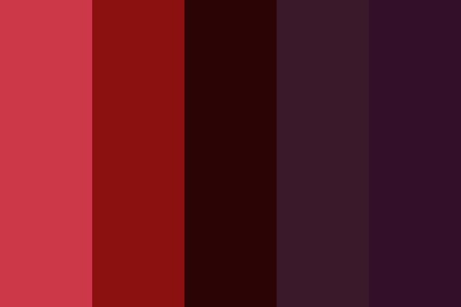 Red And Jena Couple Oc Color Palette