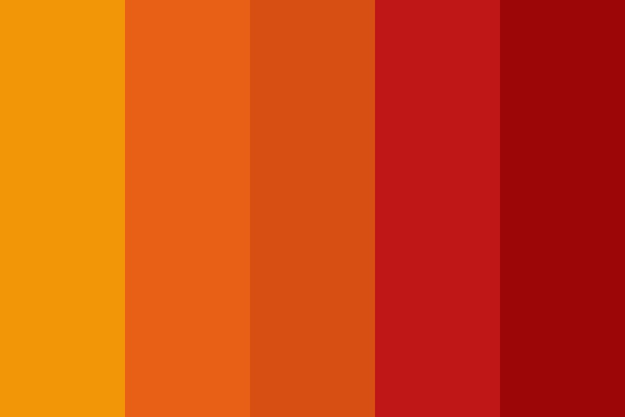 Red And Orange Day Color Palette
