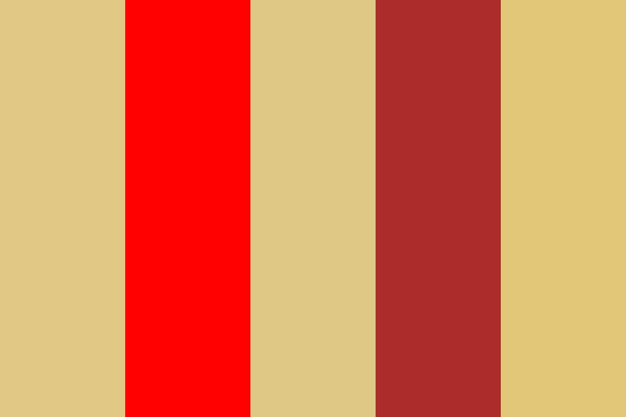 Red And Yellow Color Palette
