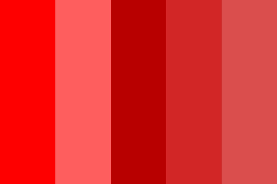 Red Awesome Palette Color Palette