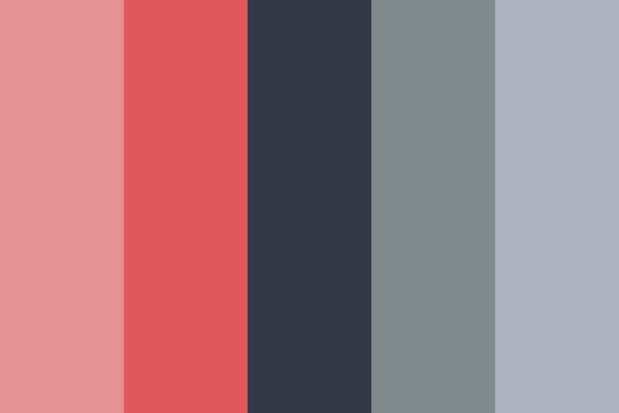 Red Fog Color Palette