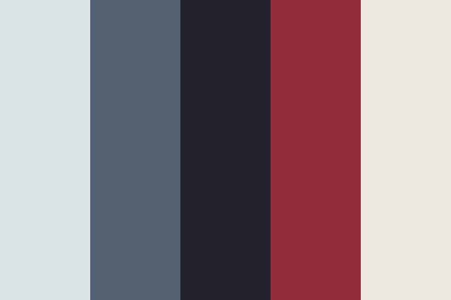 Red Front Door Color Palette