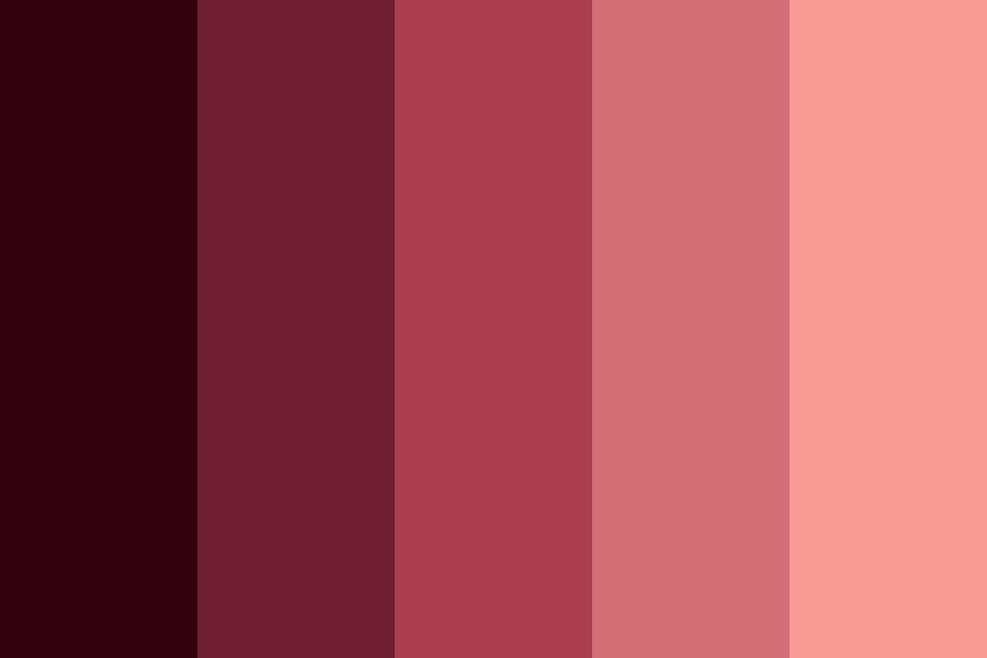 Red Hair Color Palette