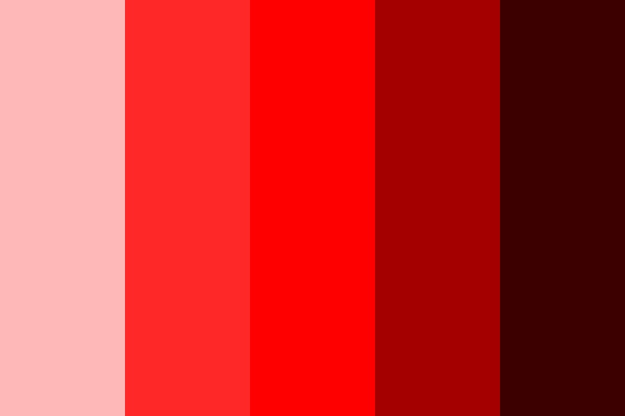Red Light District Color Palette
