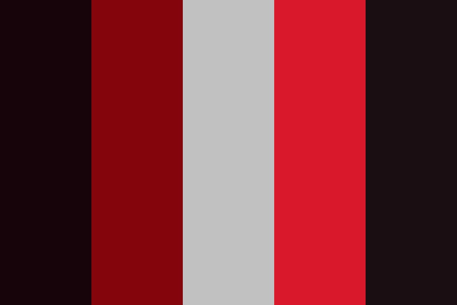Red Like Roses Color Palette