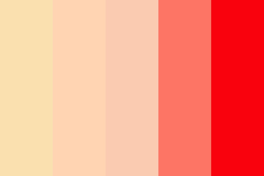 Red Lipped Color Palette