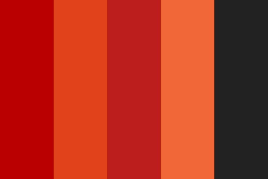 Red Love Color Palette
